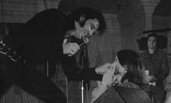 Kjell Elvis With Young Fan