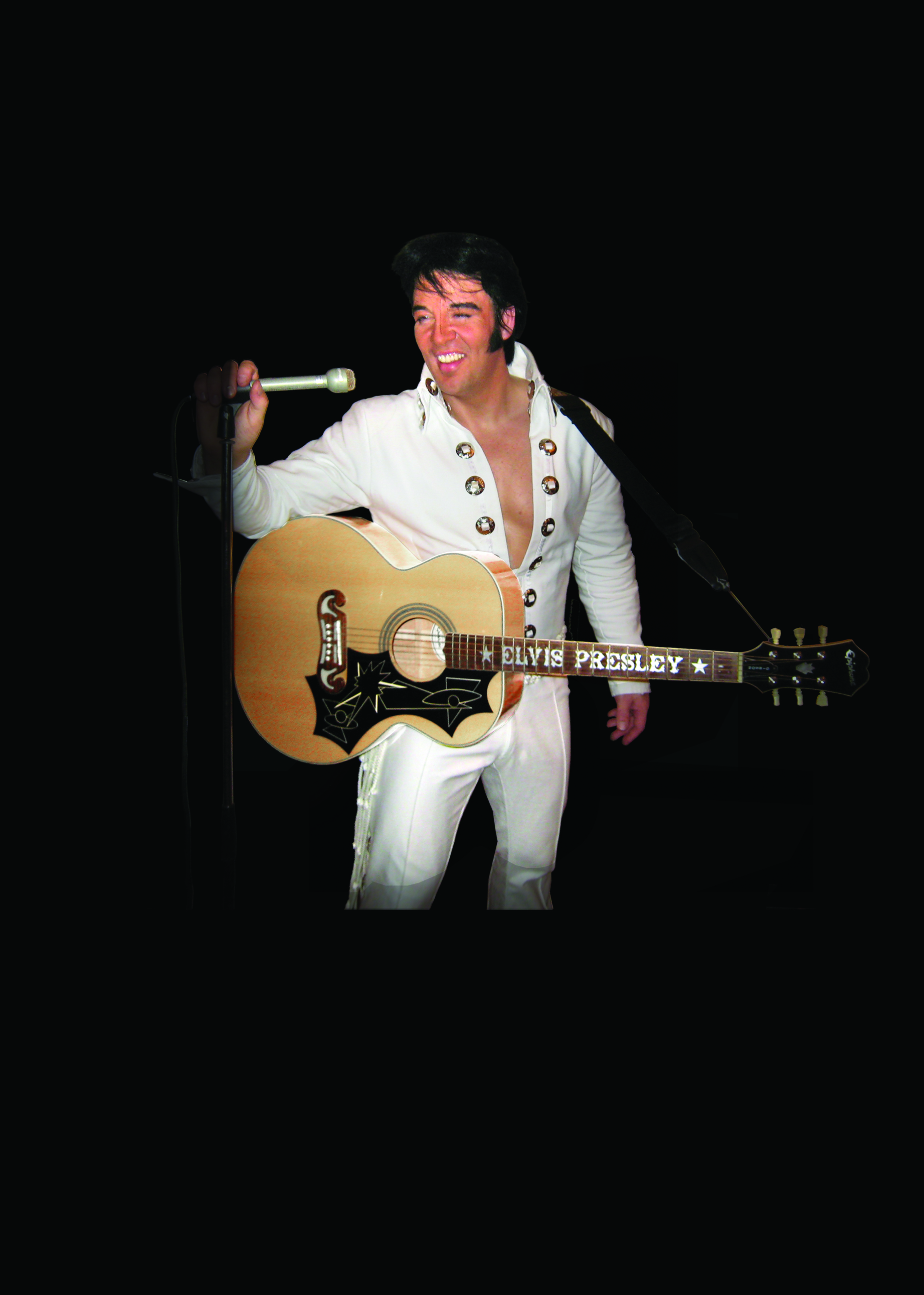 kjell Elvis White Concho Suit 1970