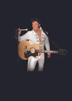 kjell Elvis White Concho Suit 1970