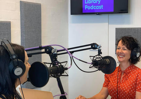 Hosting Newcastle Library's Podcast Chats with Fabulous Children's Authors & Illustrators