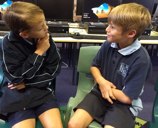 Listening and telling in pairs