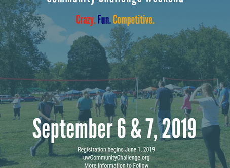 UNITED WAY TO HOST ANNUAL COMMUNITY CHALLENGE WEEKEND