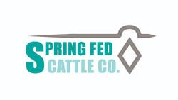Spring Fed Cattle Co Logo