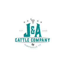 J&A Cattle Company Logo