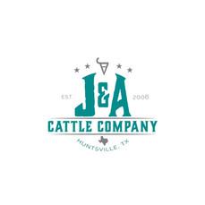 J&A Cattle Company Logo