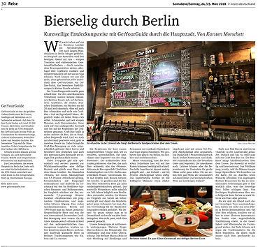 Bierselig durch Berlin - von Biersommelier Karsten Morschett, nd 24.03.2018