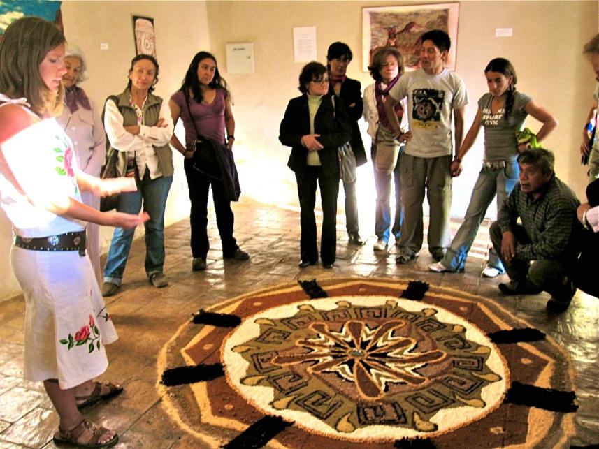 Museum artist talk