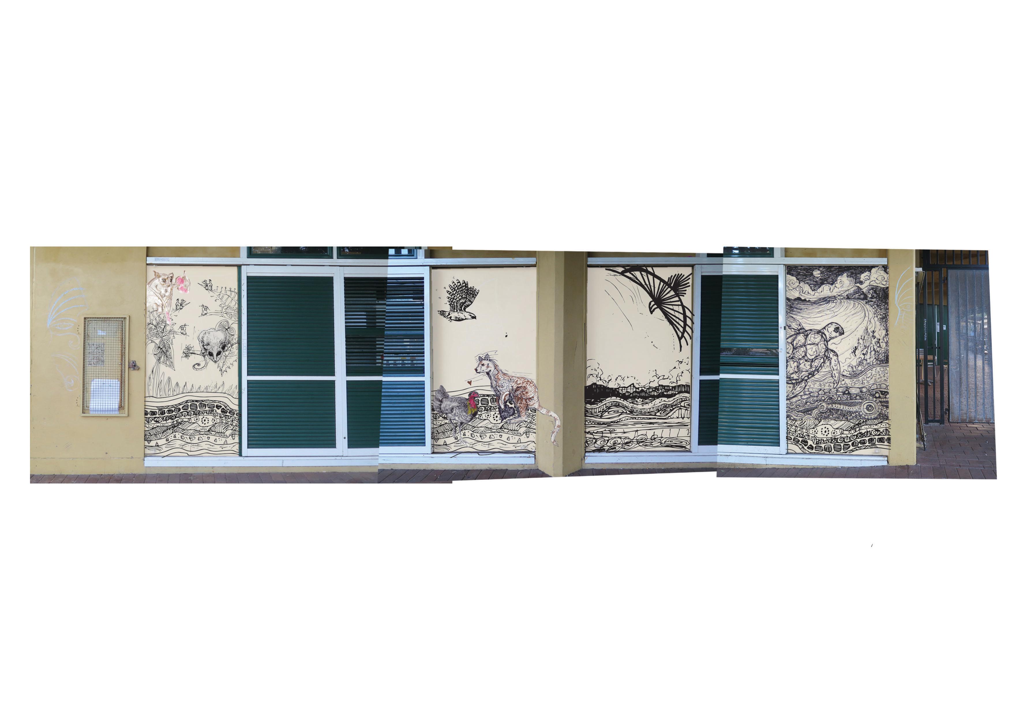 BBCC pano mural