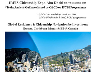 CITINAVI IREIS Abu Dhabi exhibition      1st-3rd nov. 2018