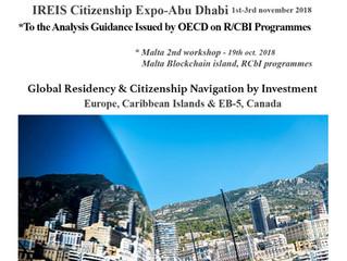 CITINAVI IREIS Abu Dhabi exhibition      1st-3rd nov. 2018