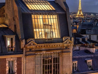 Discover the incredible charm of Paris through its rooftops, Haussmannian apartments and monuments
