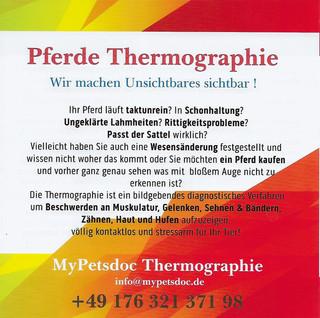 Thermographie ist ein diagnostisches Verfahren...