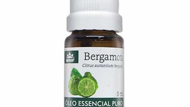 Óleo Essencial Bergamota Wnf 5 ml