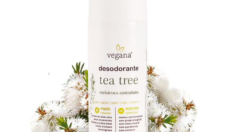 Desodorante Tea Tree Vegana Wnf