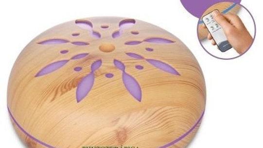 Aromatizador Umidificador Ultrassônico Flor 550ml Phytoterápica