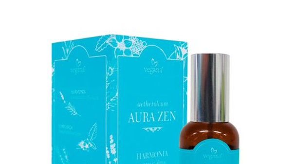 Spray Aura Zen Harmonia Vegana Wnf