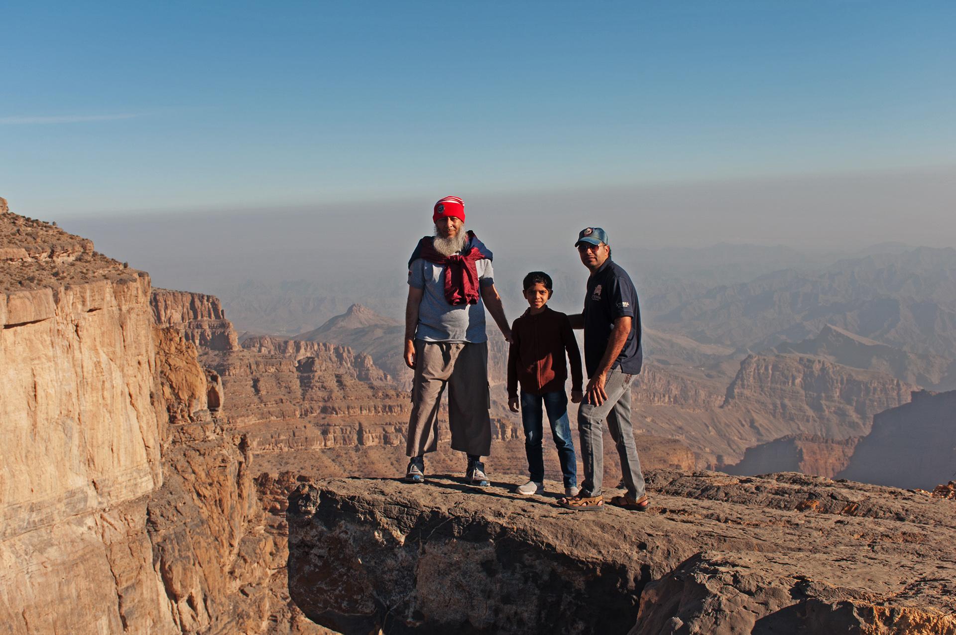 Jebel Shams Hike