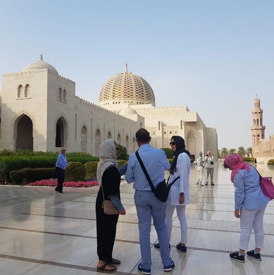 Muscat City Tour - Sultan Qaboos Mosque