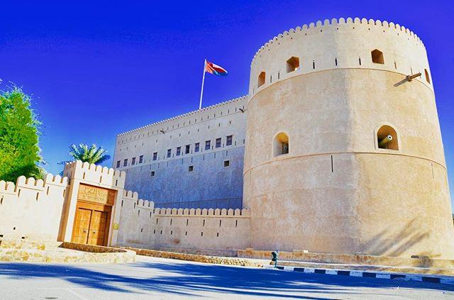 Al Hazm Castle is an impressive structur