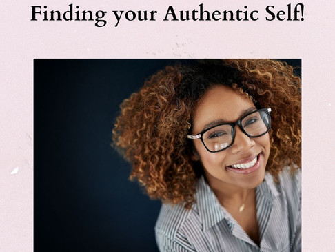 Finding Your Authentic Self!