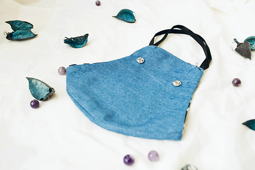 CHAMBRAY FACE MASK