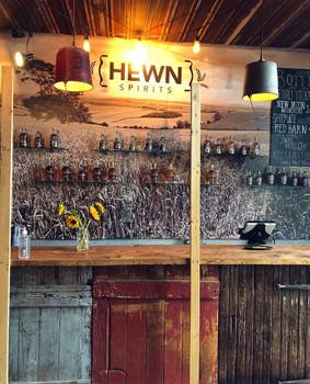 Hewn Spirits' Distilling Bar in Pipersville, PA