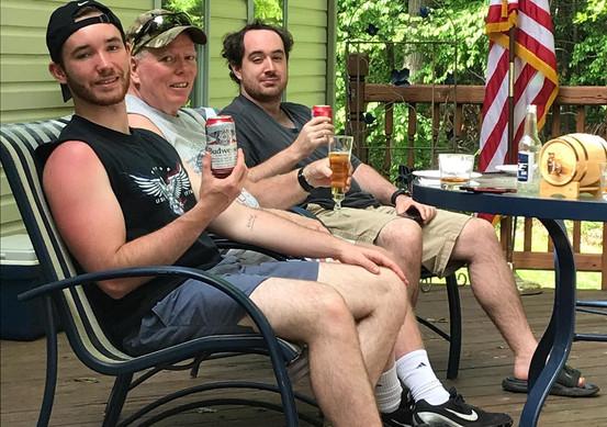 Brian Adult Porch Beers.jpg