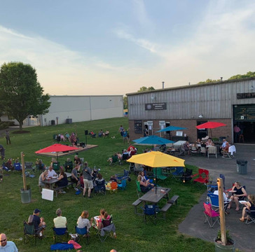 Hewn Spirits' Distilling and Bucks County Brewery's shared outdoor location in Pipersville, PA