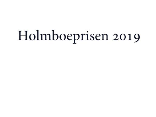 Geir Birkeland, Holmboeprisvinneren 2019