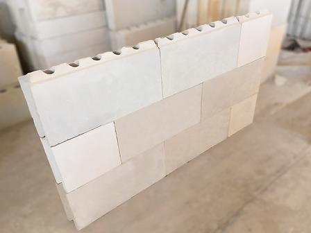 muro con bloques para construccin ahorradores y fciles de usar