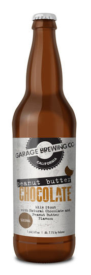 Garage Brewing Co Peanut Butter Chocolate Milk Stout