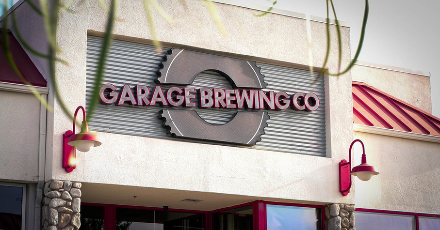 Garage Brewing Co picture of brewery in Temecula, CA