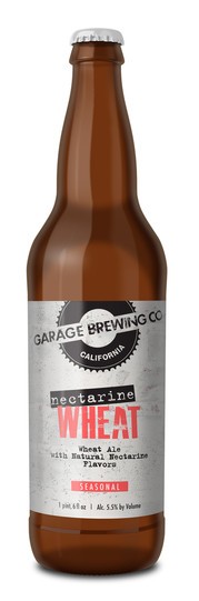Garage Brewing Co Nectarine Wheat
