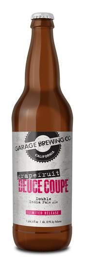 Garage Brewing Co Grapefruit Deuce Coupe