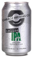 Garage Brewing Co can of Inline IPA. Brewed in Temecula, CA