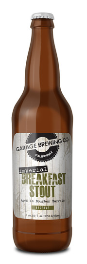Garage Brewing Co Imperial Breakfast Stout
