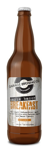 Garage Brewing Co Maple Bacon Breakfast Lager