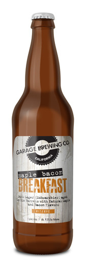Garage Brewing Co Maple Bacon Breakfast Lager
