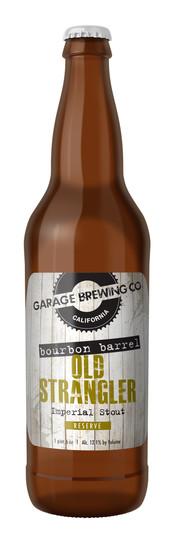 Garage Brewing Co Boubon Barrel Old Strangler