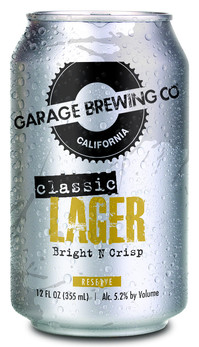 Garage Brewing Co Classic Lager