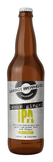 Garage Brewing Co Lemon Ginger IPA