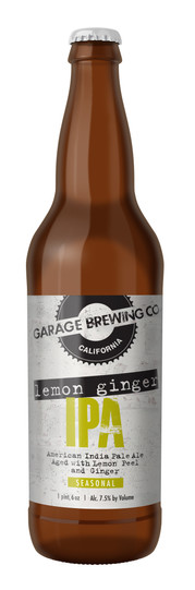 Garage Brewing Co Lemon Ginger IPA