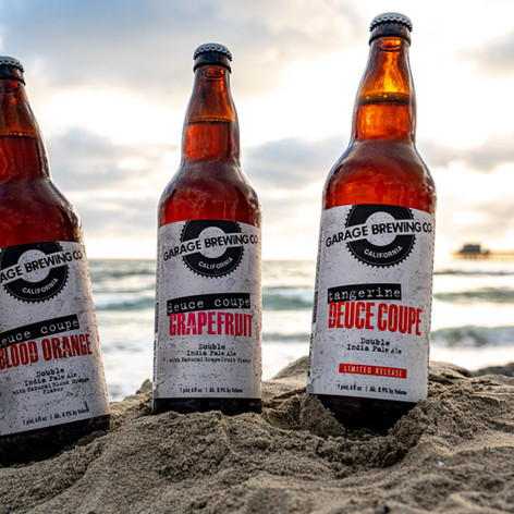 Garage Brewing Co in Temecula, CA presents Deuce Coupe Collection