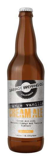 Garage Brewing Co Orange Vanilla Cream Ale