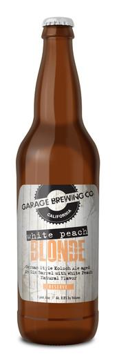 Garage Brewing Co White Peach Blonde