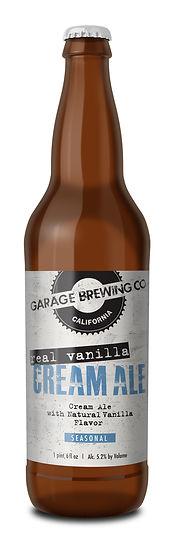 Garage Brewing Co Real Vanilla Cream Ale