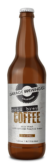 Garage Brewing Co Cold Brew Coffee Milk Stout