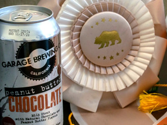 Garage Brewing Co Award for Peanut Butter Chocolate Milk Stout