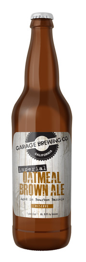 Garage Brewing Co Imperial Oatmeal Brown Ale