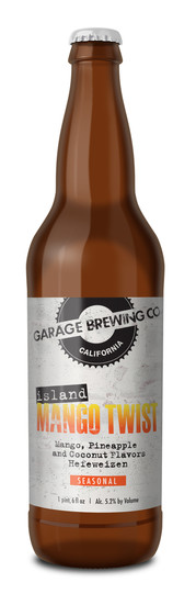 Garage Brewing Co Island Mango Twist